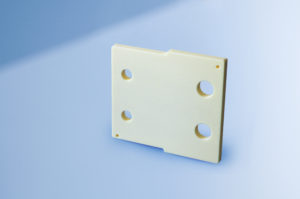 Plate with Holes, electrical insulating