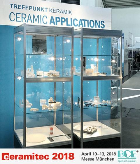 BCE at ceramitec 2018 in Munich