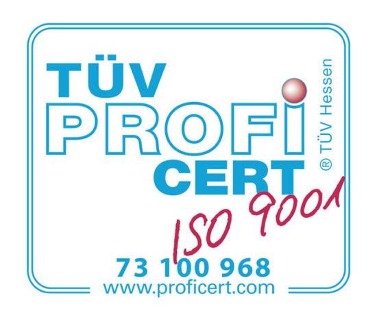 Certificate DIN EN ISO 9011:2015 – BCE Special Ceramics